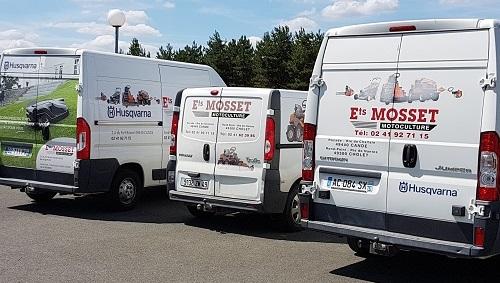 mosset motoculture cholet camions de livraison