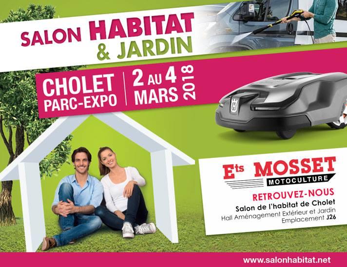 Mosset motoculture cholet salon habitat 2018