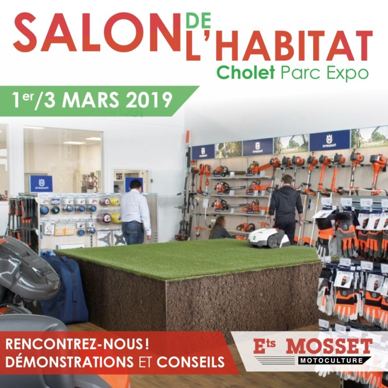 Salon de l 39 habitat mosset motoculture - Salon de l habitat chambery ...