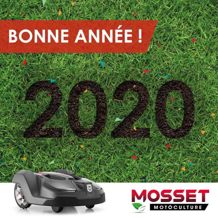 Bonne année 2020 mosset motoculture