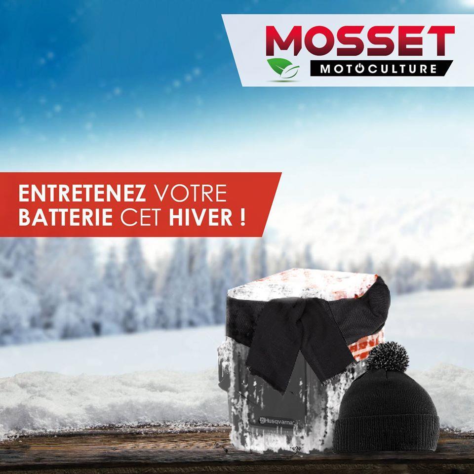 Entretient de votre batterie cet hiver