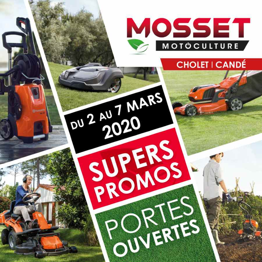 PORTES OUVERTES 2020 Mosset motoculture