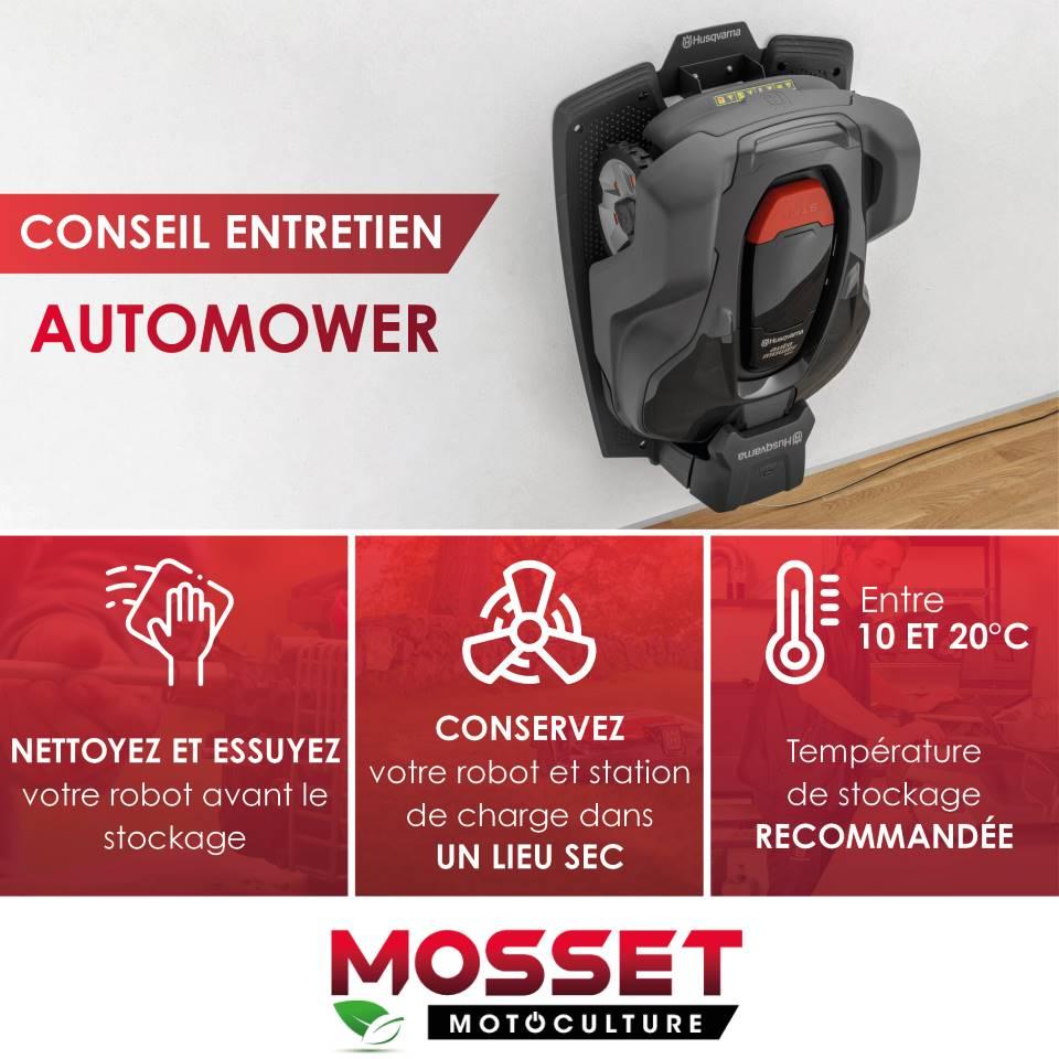 Mosset entretien Automower