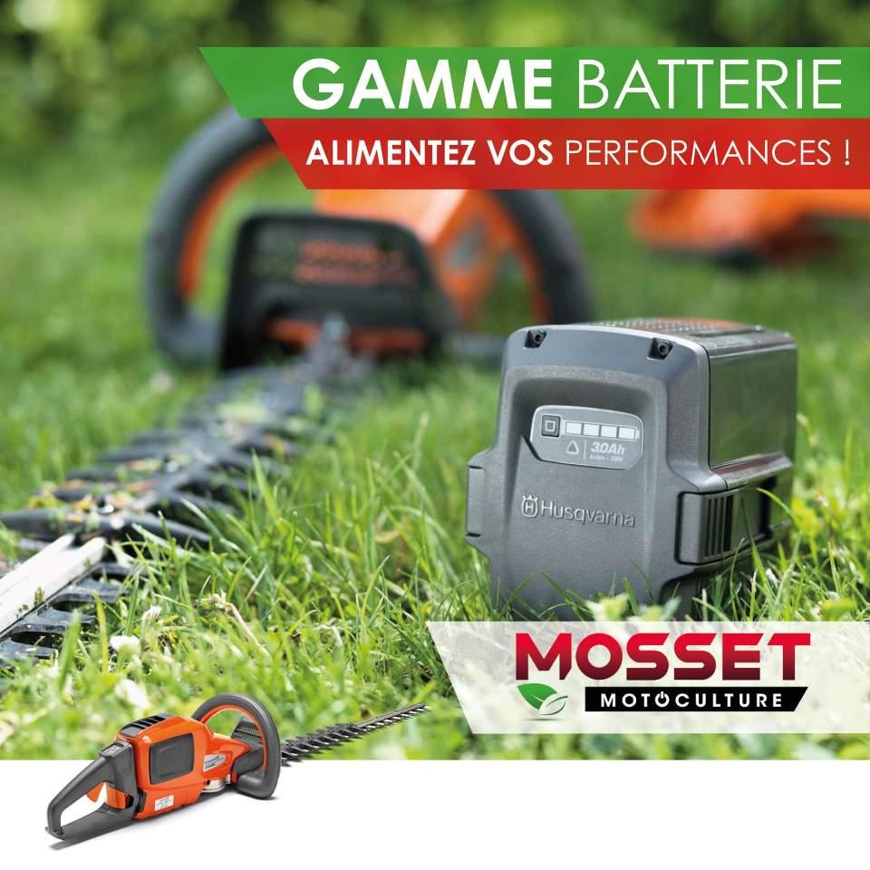 Gamme Batterie Alimentez vos performances